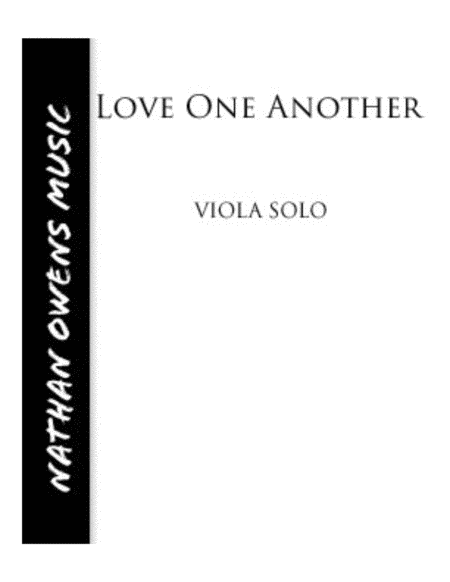 Love One Another - Viola/Piano