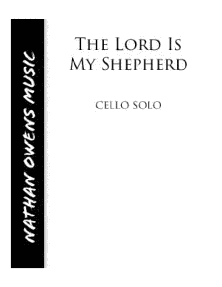The Lord is My Shepherd - Cello/Piano