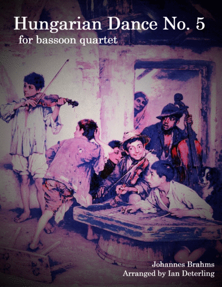 Hungarian Dance No. 5 (for Bassoon Quartet)