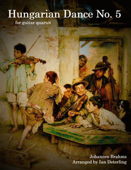 Hungarian Dance No. 5 (for Guitar Quartet)
