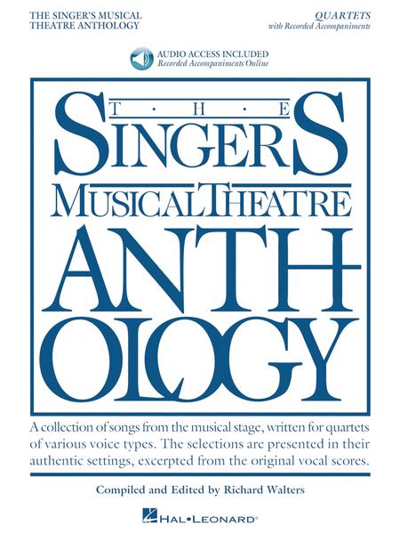 Singer's Musical Theatre Anthology - Quartets Book/Online Audio