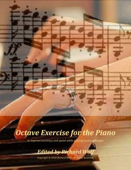 Octave Exercise for the Piano