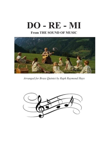 Do-Re-Mi (for brass quintet)