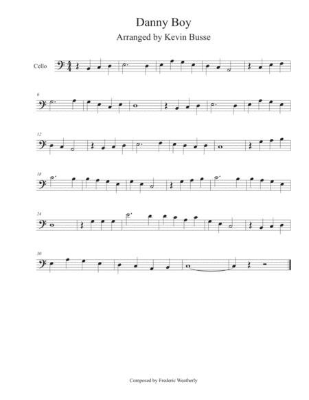 Danny Boy - Cello