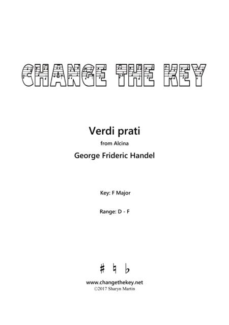 Verdi Prati - F Major