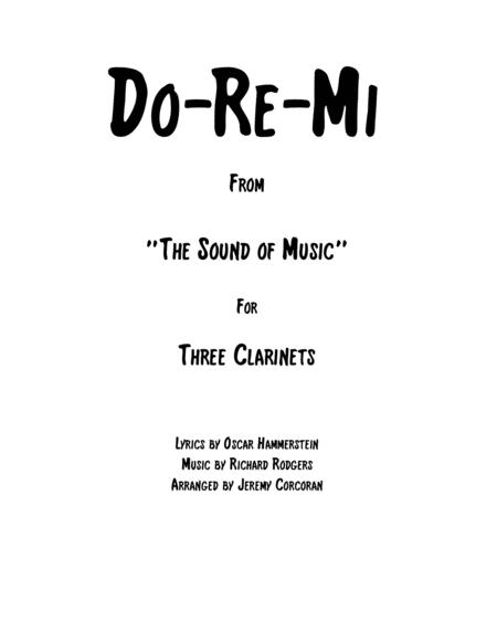 Do-Re-Mi for Three Clarinets