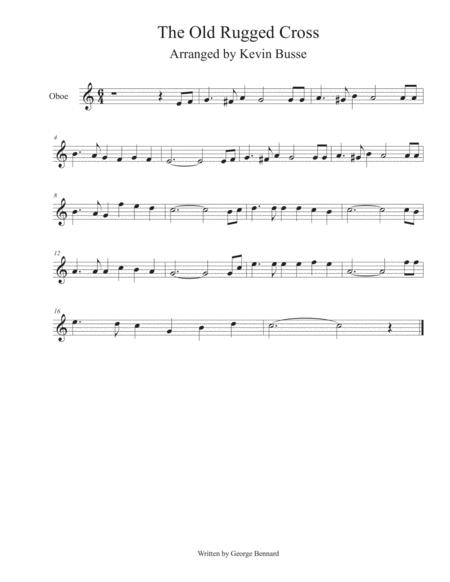 Old Rugged Cross - Oboe