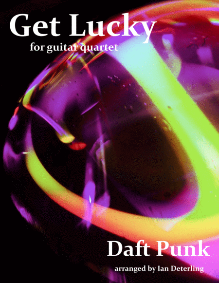 Get Lucky (for Guitar Quartet)