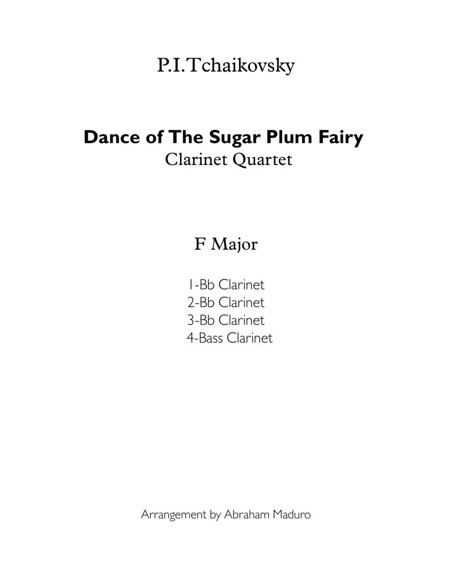 Dance of the Sugar Plum Fairy from Nutcracker Clarinet Quartet
