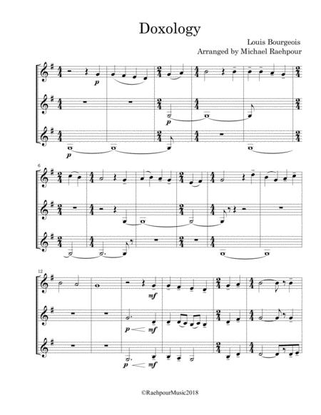 Doxology - Trumpet Trio