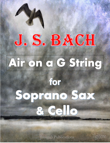 Bach: Air on a G String for Soprano Sax & Cello