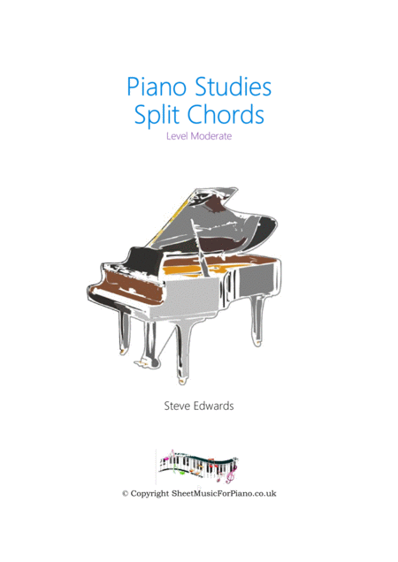 Split Chords - Moderate Piano