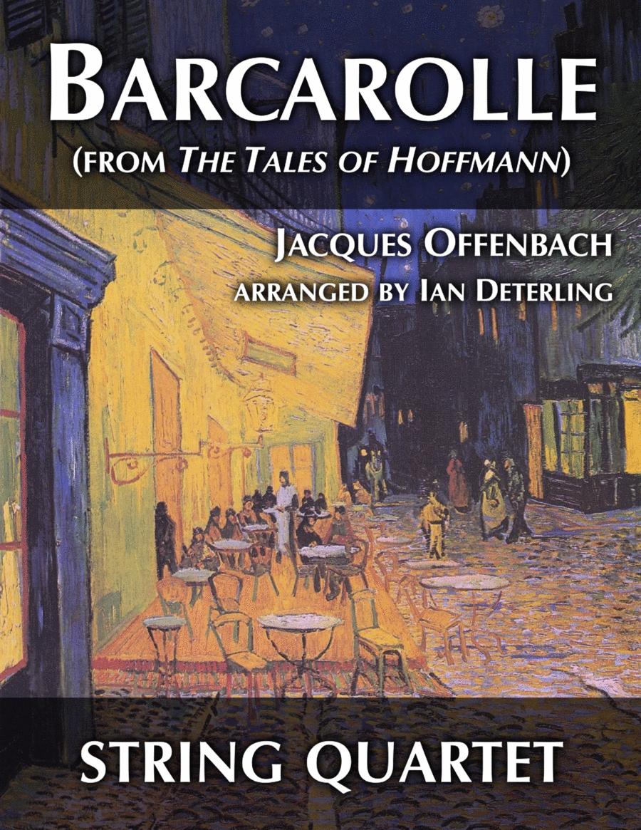 Barcarolle (for String Quartet)
