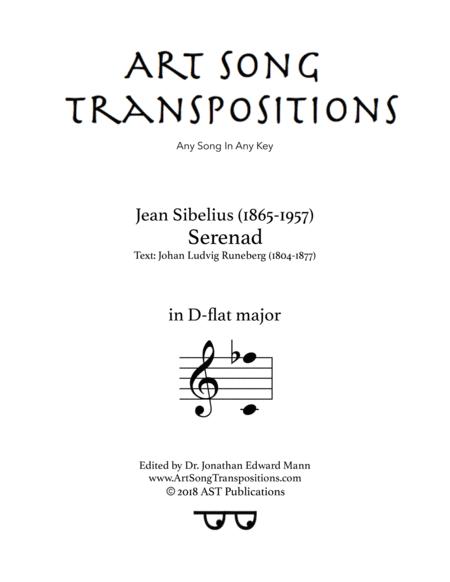 Serenad (D-flat major)