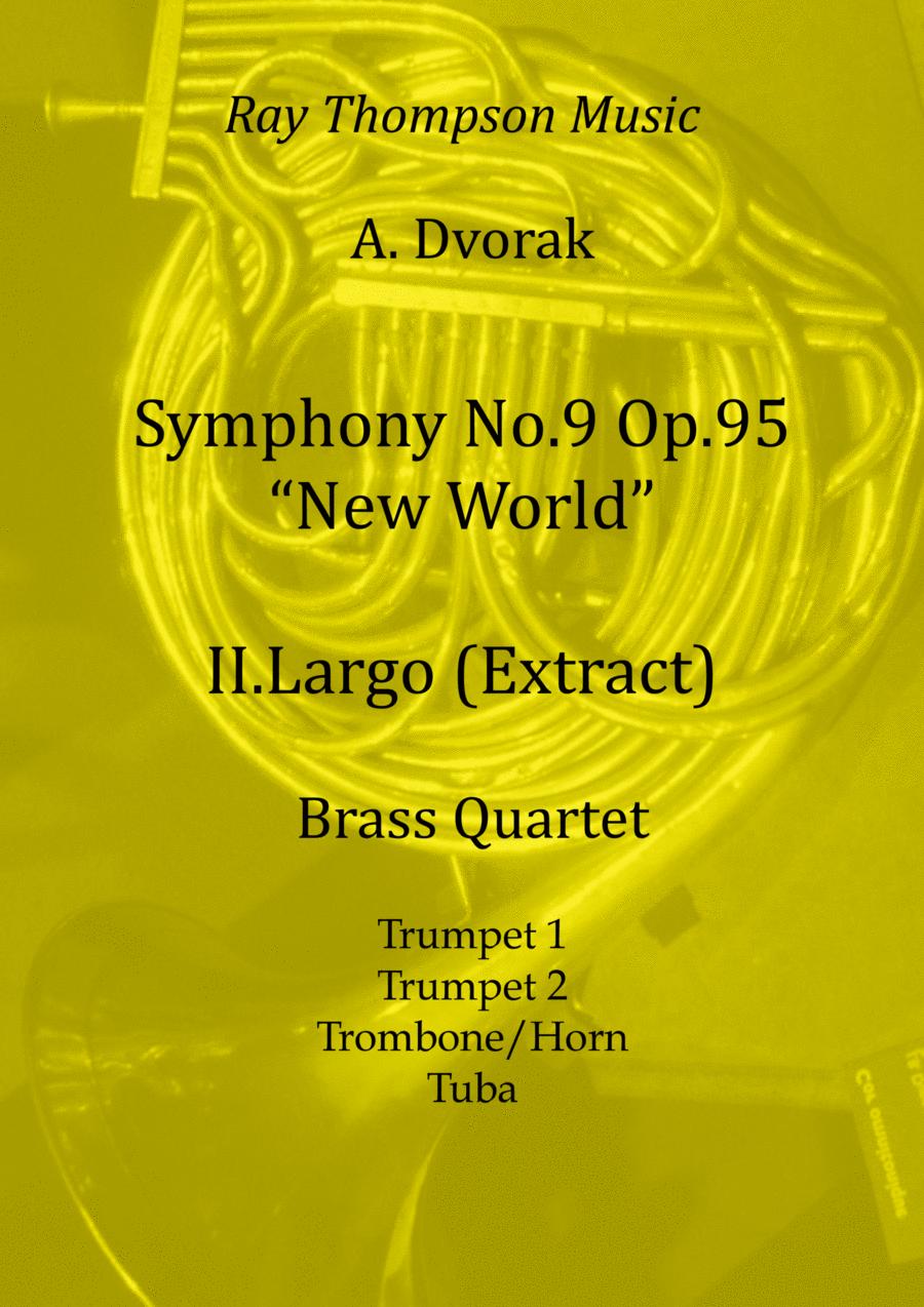 Dvorak: Mvt.II Largo (extract) from Symphony No.9 (New World) Op.95 - brass quartet