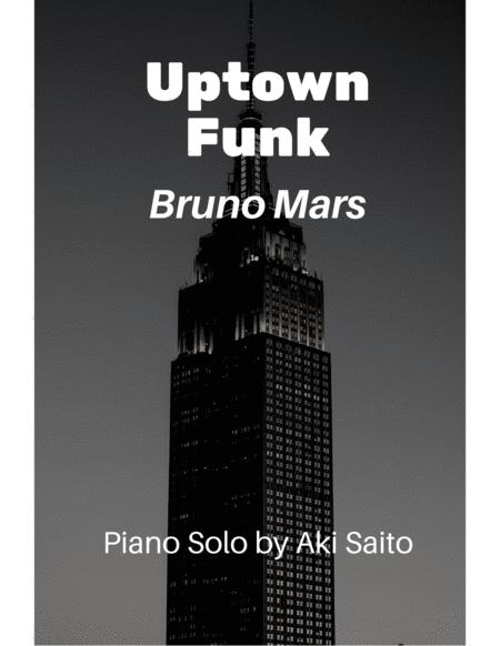 Uptown Funk - Funky Piano Solo arranged by Aki Saito