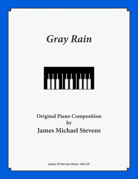 Gray Rain - Reflective Piano