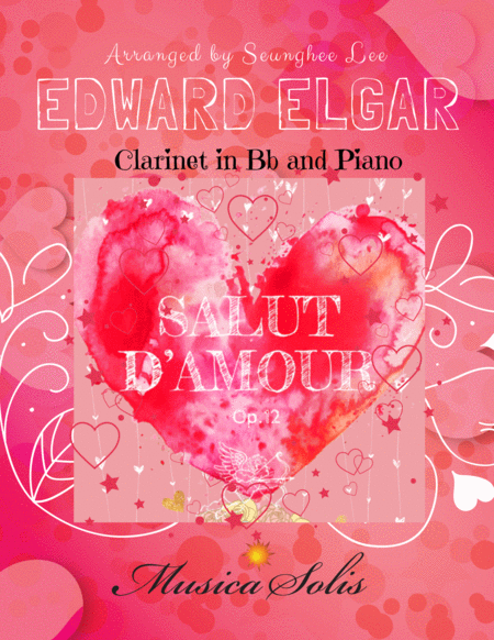 Salut d'Amour, Op. 12 for Clarinet in Bb and Piano