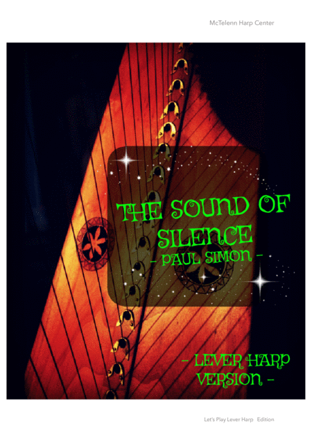 THE SOUND OF SILENCE - FOR LEVER HARP  - By Eve McTelenn