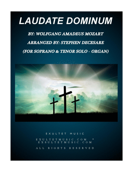 Laudate Dominum (Duet for Soprano & Tenor Solo - Organ Accompaniment)