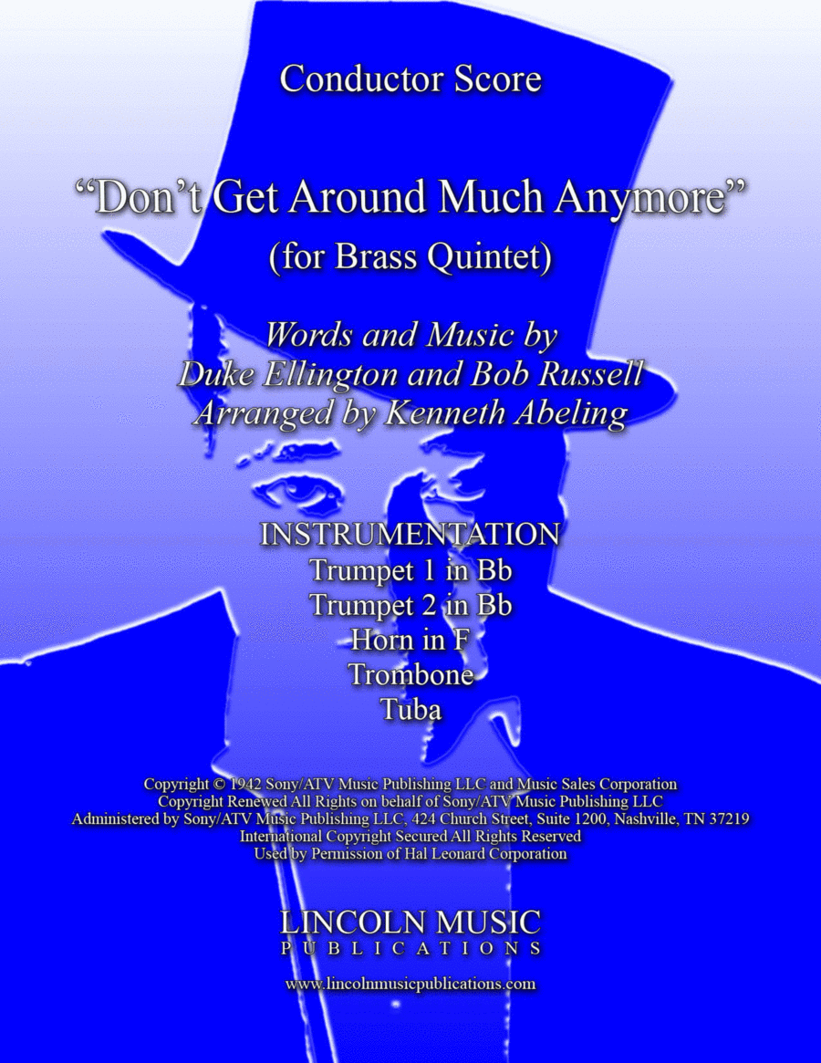 Don't Get Around Much Anymore (for Brass Quintet)