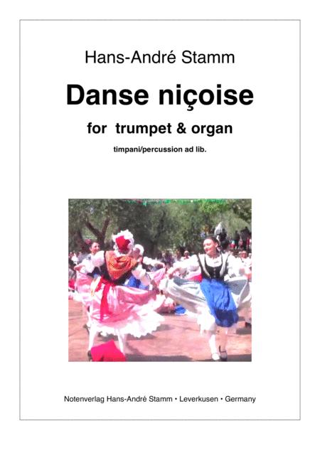 Danse niçoise for trumpet & organ, timp./perc. ad lib