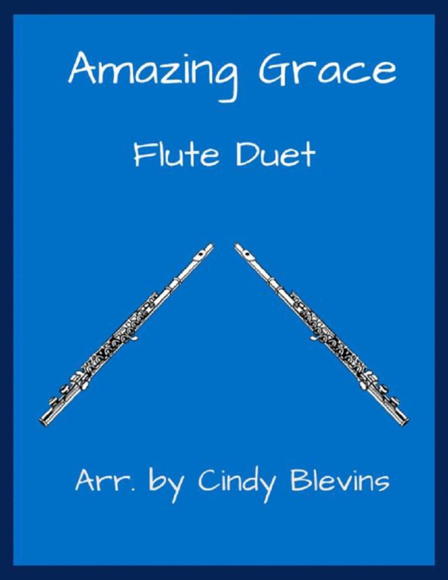 Amazing Grace, arranged for Flute Duet