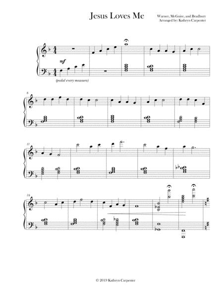 Jesus Loves Me (Jazz Piano)