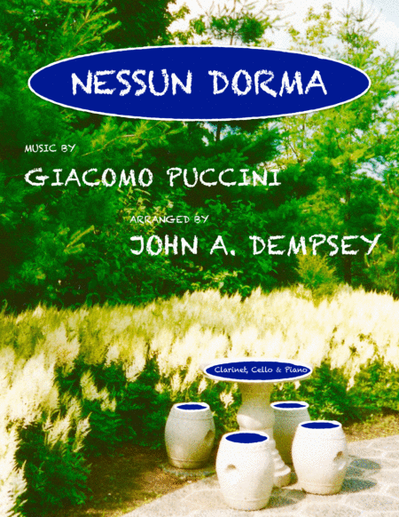 Nessun Dorma (Trio for Clarinet, Cello and Piano)