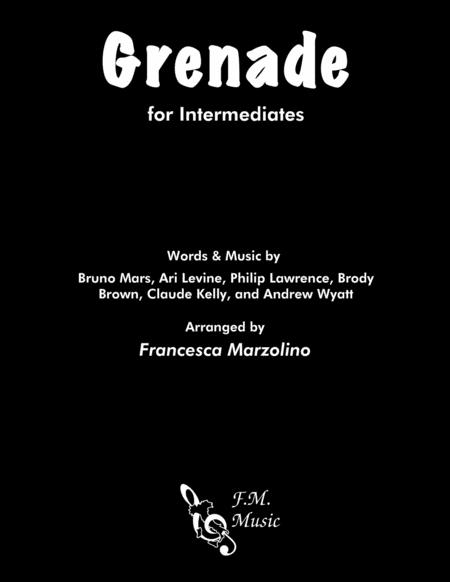 Grenade (Intermediate Piano)
