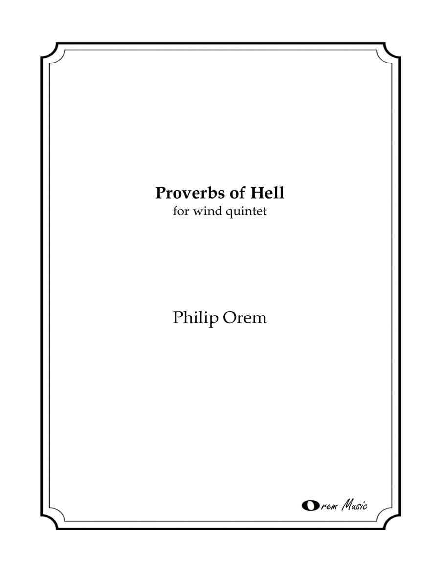 proverbs of hell