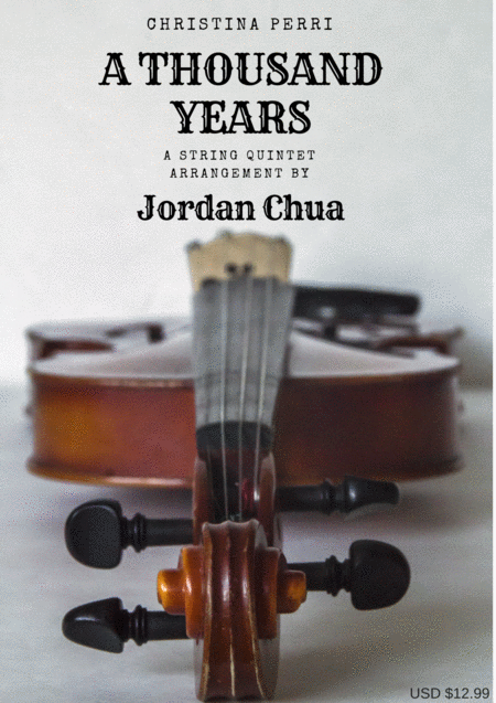 A Thousand Years for String Quintet