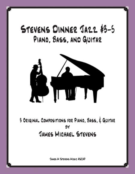 Stevens Dinner Jazz Piano and Bass - #3-5 Book