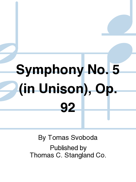 Symphony No. 5 (in Unison), Op. 92