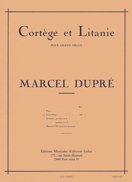 Cortege et Litanie - Orgue