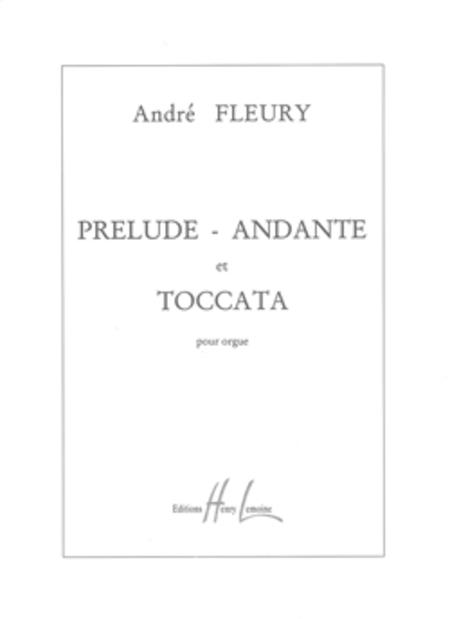 Prelude, Andante Et Toccata