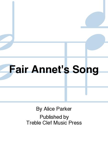 Fair Annet's Song