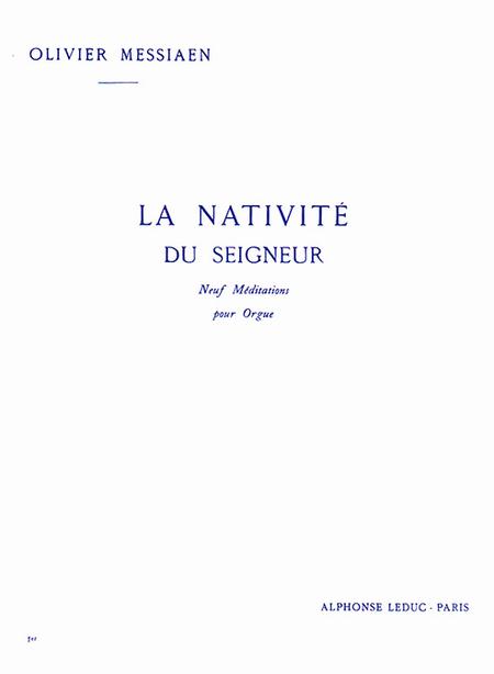 Nativite Du Seigneur Volume 1 (Meditations 1 et 2) - Orgue