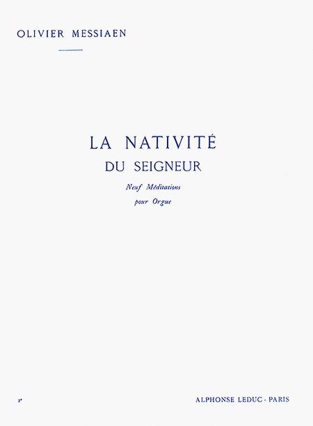 Nativite Du Seigneur Volume 2 (Meditations 4 et 5) - Orgue
