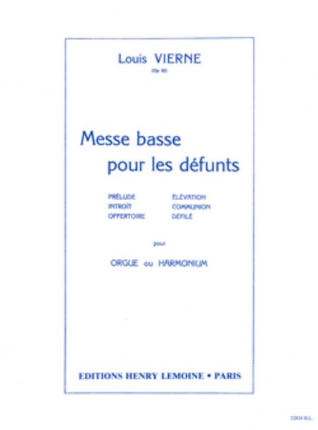 Messe Basse Pour Les Defunts, Op. 62