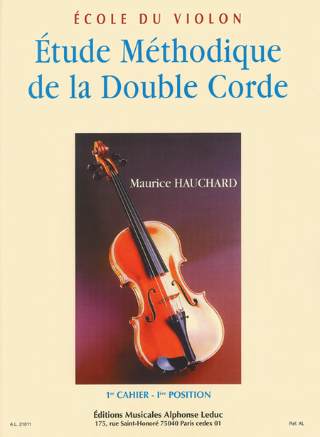 Etude Methodique Des Positions de la Double Corde