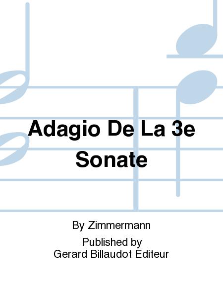 Adagio De La 3E Sonate