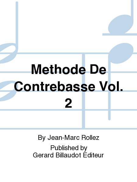 Methode De Contrebasse Vol. 2