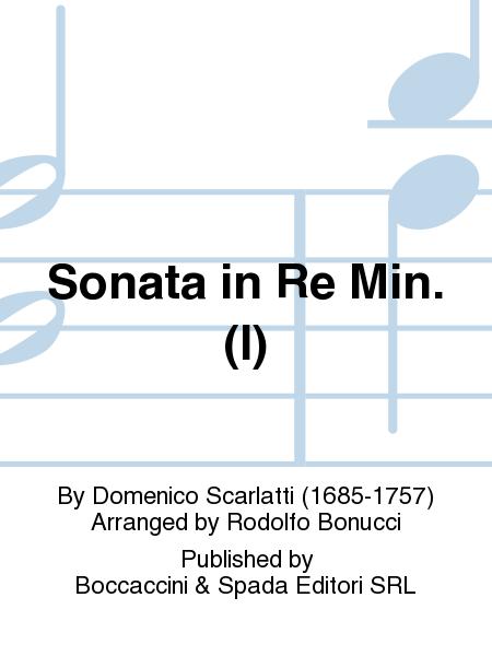 Sonata in Re Min. (I)