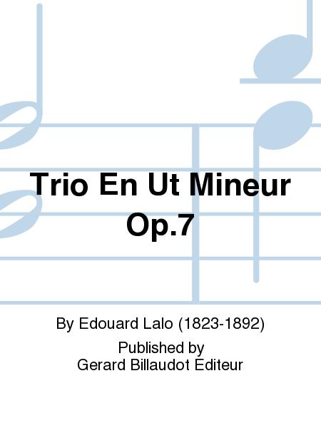 Trio En Ut Mineur Op.7