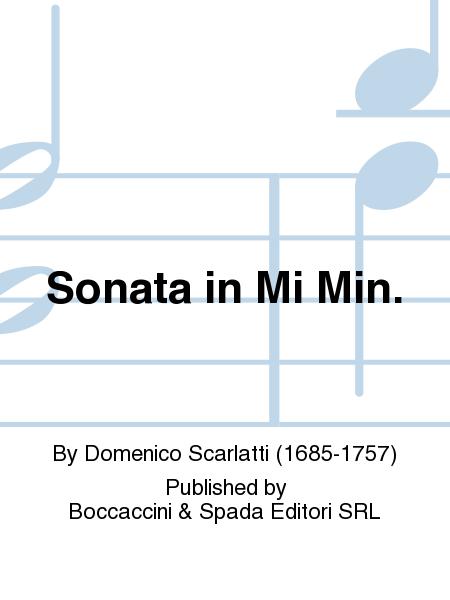 Sonata in Mi Min.