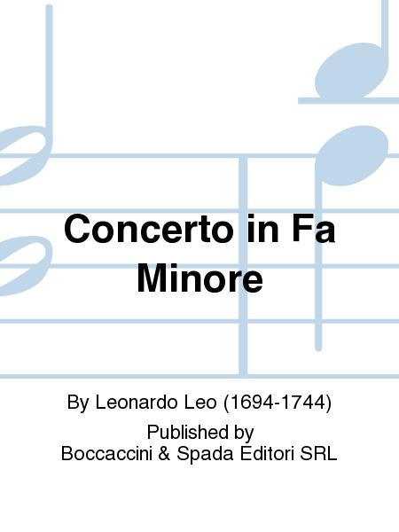 Concerto in Fa Minore