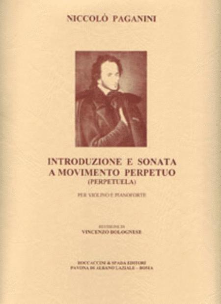 Introduzione E Sonata A Movimento Perpet