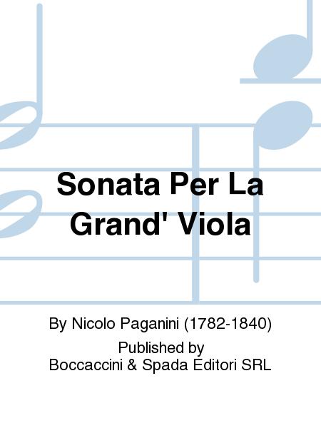 Sonata Per La Grand' Viola