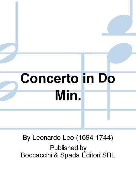 Concerto in Do Min.